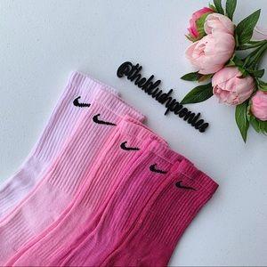 Nike Custom Hand Dyed Crew Socks